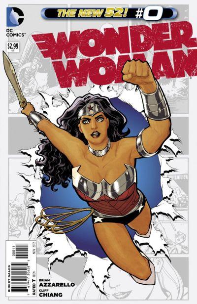 Comic - Wonder Woman 0 - 2012