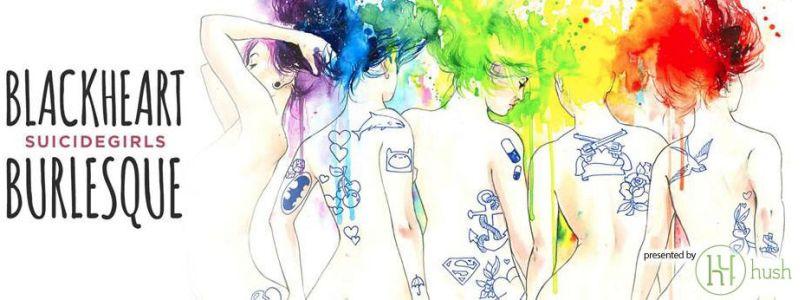 Logo - Suicide Girls Blackheart Burlesque