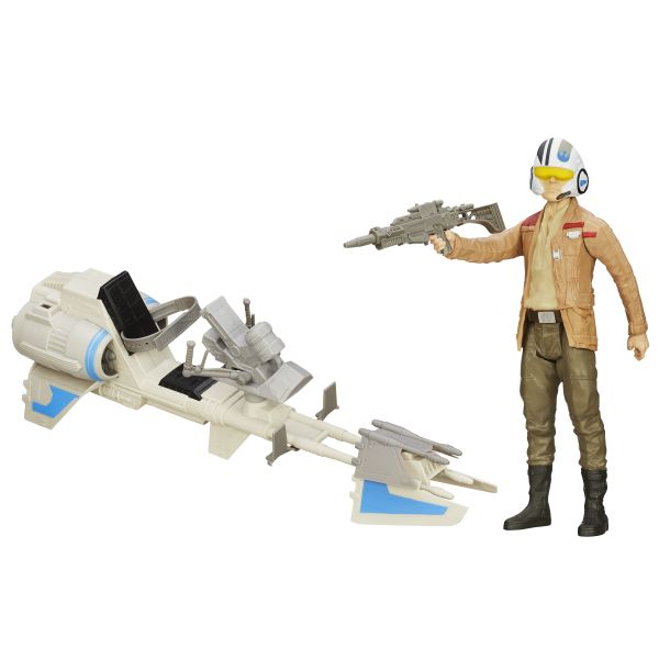STAR WARS TFA 12IN SERIES FIGURE & VEHICLE_Speeder Bike