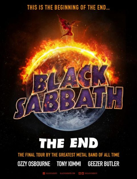 Tour - Black Sabbath - The End 2016