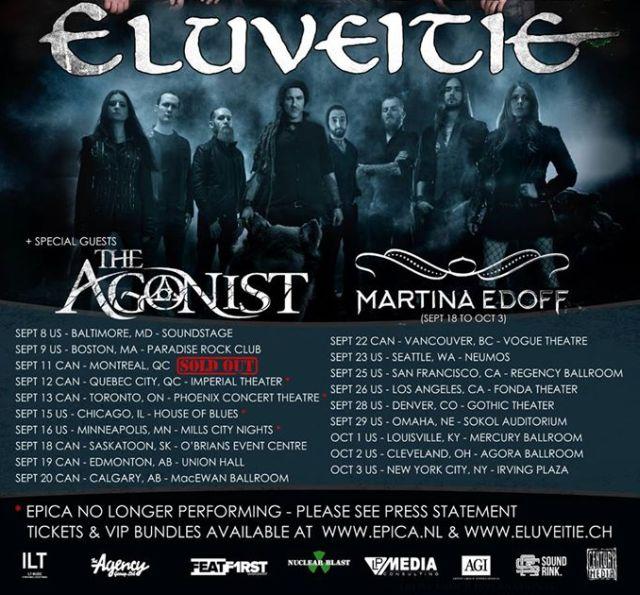 Tour - Eluveitie - 2015