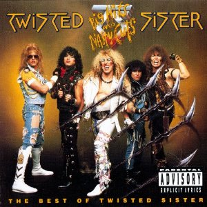 """""""Big Hits And Nasty Cuts"""" by Twisted Sister"""