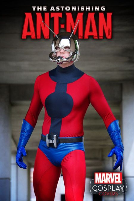Astonishing Ant-Man #1 Cosplay Variant by SoloRoboto Industries