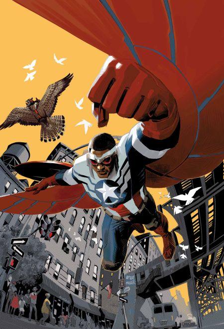 """Captain America Sam Wilson"" #1"