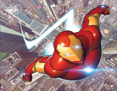 """""""Invincible Iron Man"""" #1"""