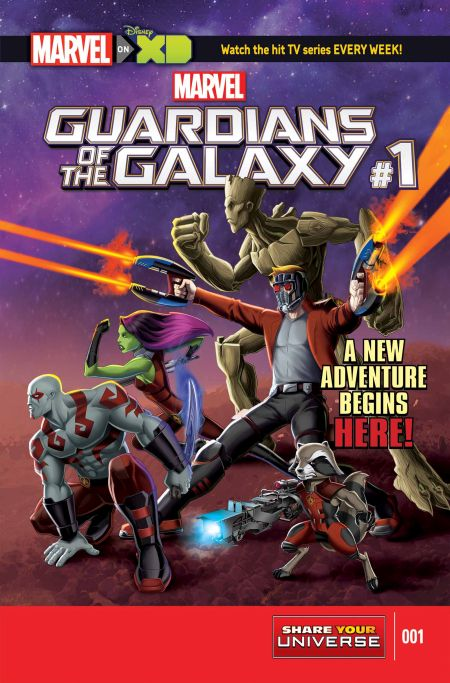 """""""Marvel Guardians Of The Galaxy"""" #1"""