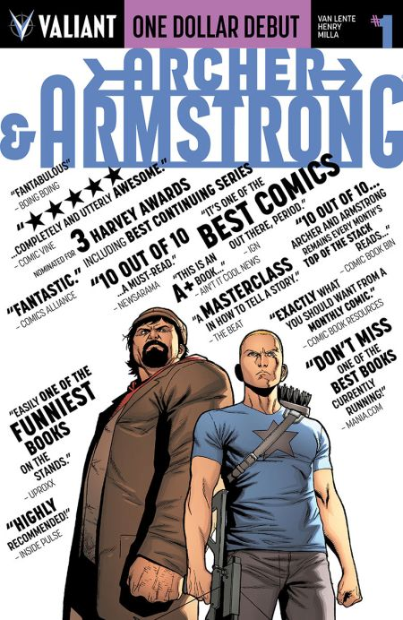 """""""One Dollar Debut: Archer and Armstrong"""" #1"""