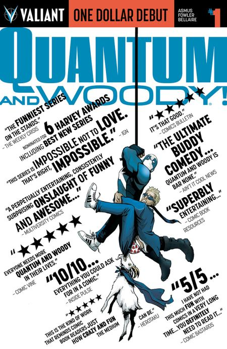 """""""One Dollar Debut: Quantum and Woody"""" #1"""