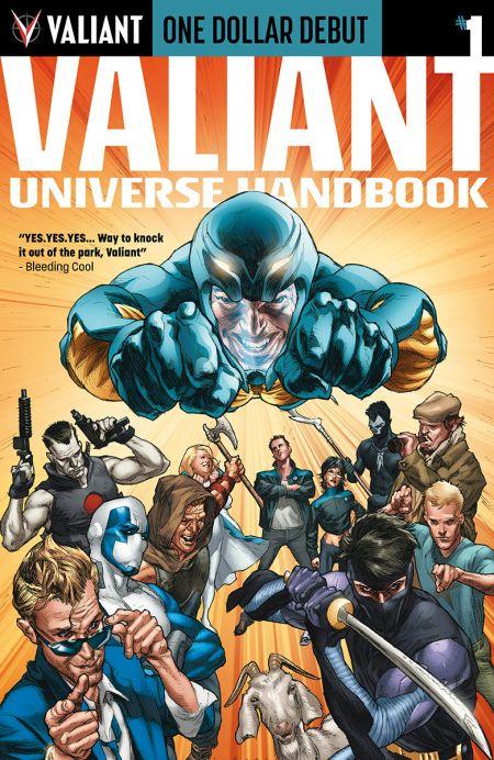 """One Dollar Debut: Valiant Universe Handbook"" #1"