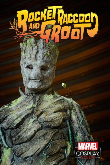 Comic - Rocket Raccoon and Groot - Cosplay 2015