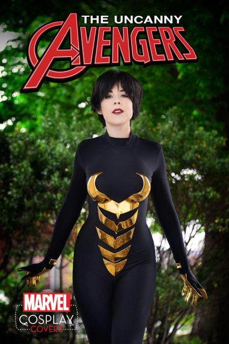 Uncanny Avengers #1 Cosplay Variant by Miss Kit Quinn
