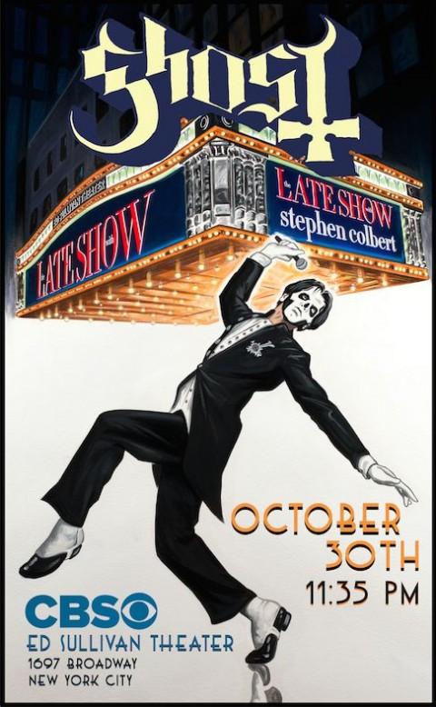 Poster - Ghost - Colbert 2015
