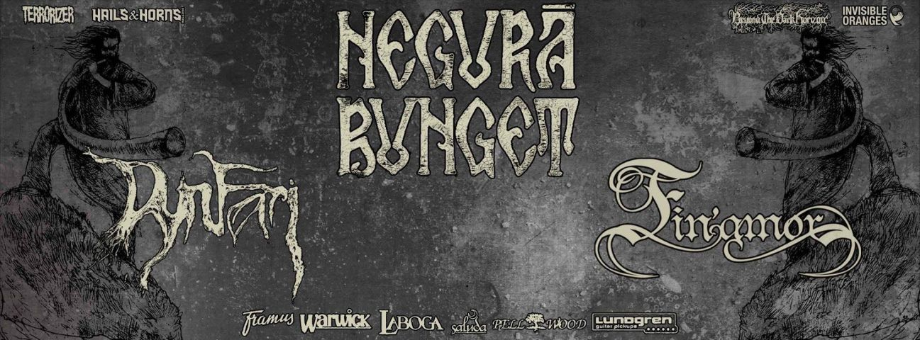 Poster - Negura Bunget at Nihil Gallery - 2015
