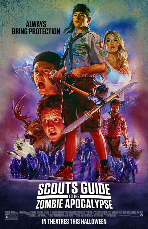 Poster - Scouts Guide To The Zombie Apocalypse - 2015