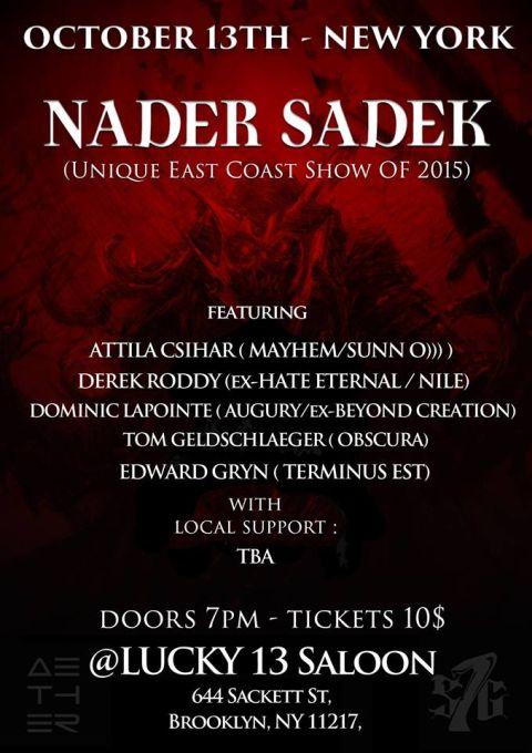 Tour - Nader Sadek - Fall 2015b
