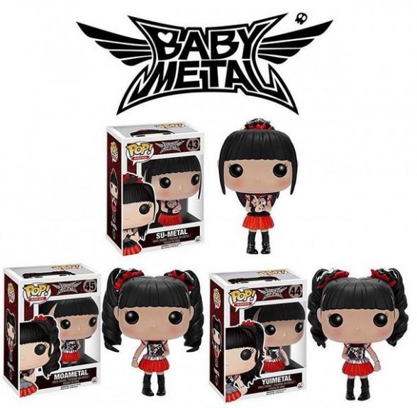 Toys - Funko - Babymetal Figures