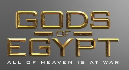 Logo - Gods Of Egypt - 2016