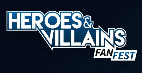 Logo - Heroes and Villains Fan Fest