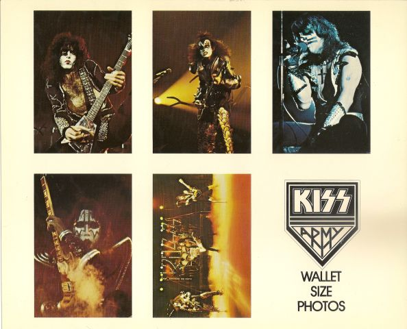 Photo - KISS Army Wallet Sized 1