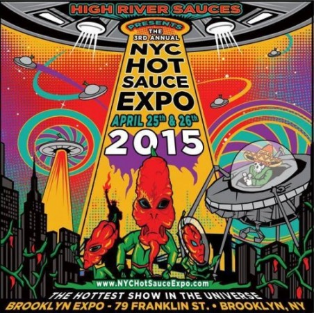 Poster - Hot Sauce Expo - 2015