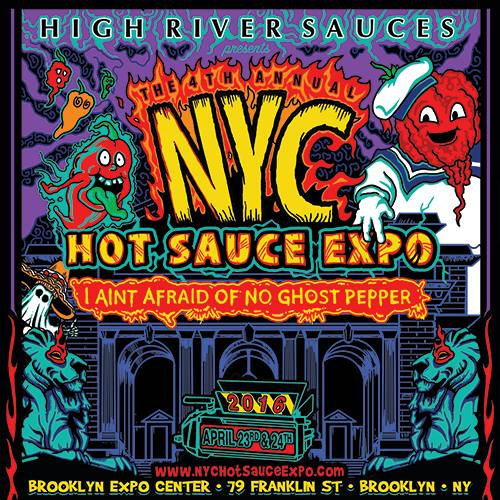 Poster - Hot Sauce Expo - 2016