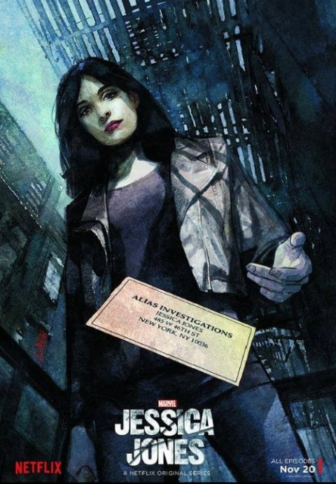 Poster - Jessica Jones - Netflix 2015