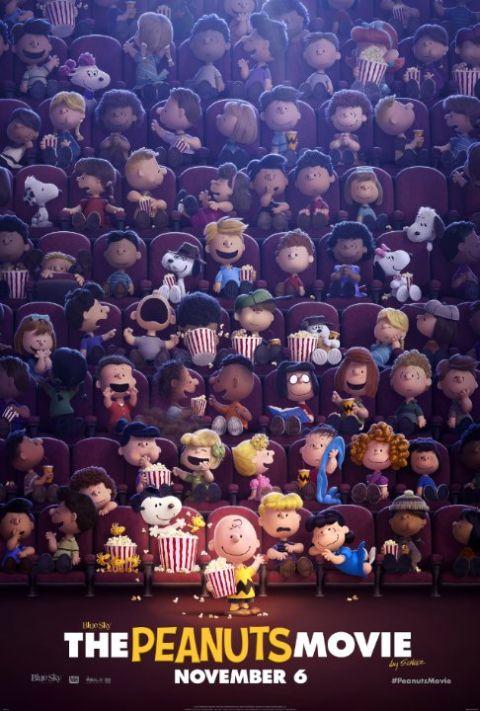 Poster - Peanuts Movie - 2015