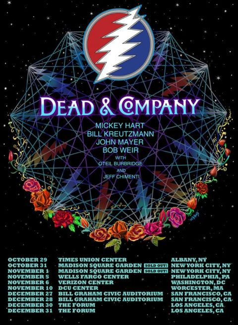 Tour - Dead and Company - 2015