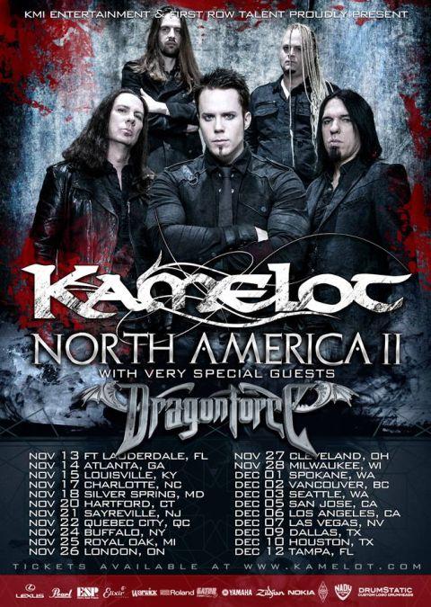 Tour - Kamelot - NA 2015 Part 2