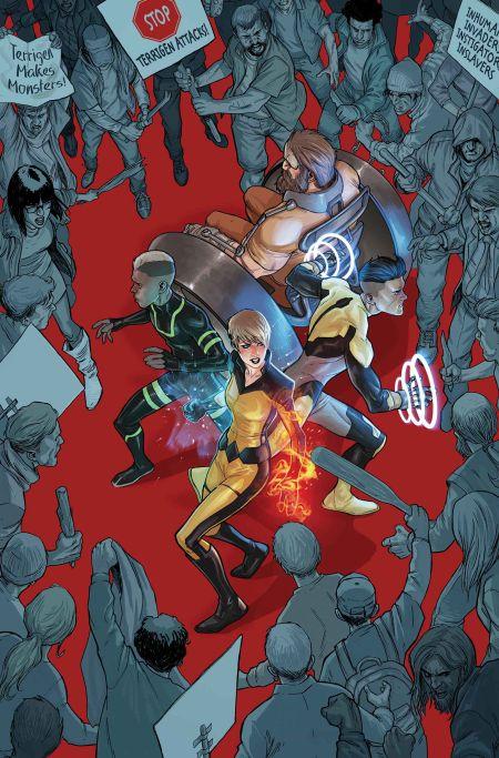 Comic - All-New Inhumans 1 - 2015