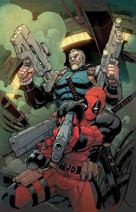 Comic - Deadpool Cable Split Second 1 - 2015