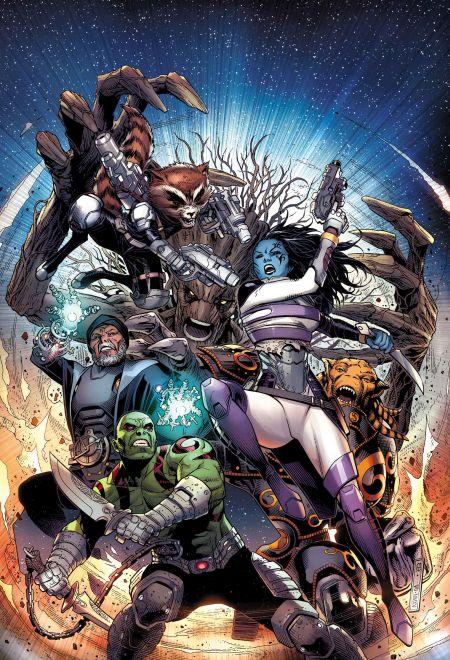 Comic - Guardians of Infinity 1 - 2015