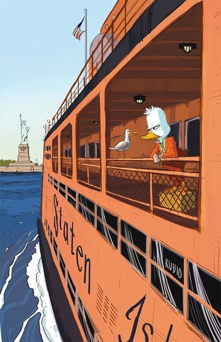 Comic - Howard The Duck 3 - NYC 2015