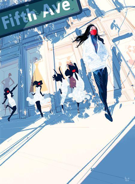 Comic - Silk - NYC 2015