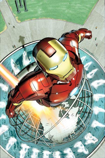 Comic - Superior Iron Man - NYC 2015