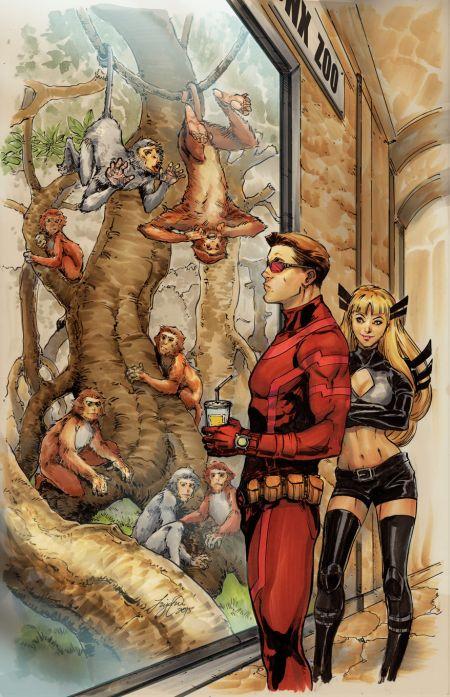 Comic - Uncanny X-Men - NYC 2015
