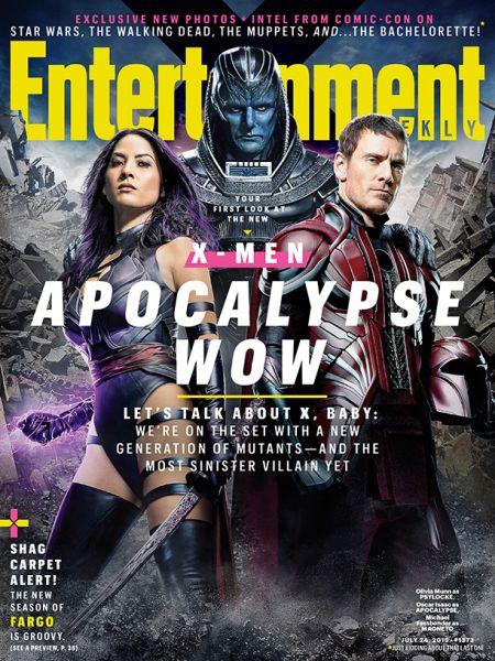 Cover - EW - X Men Apocalypse - 2015