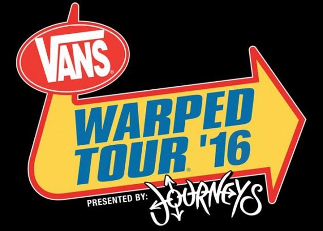 Logo - Vans Warped Tour - 2016