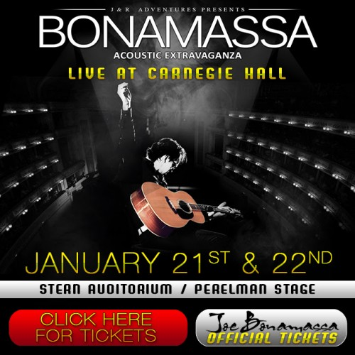 Poster - Joe Bonamassa at Carnegie Hall