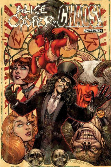 Comic - Alice Cooper Vs Chaos 1 - 2015