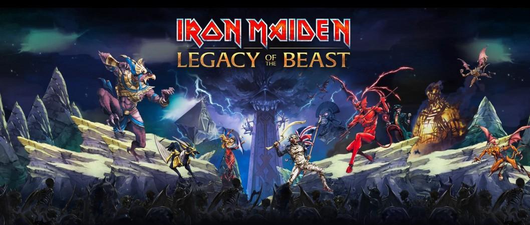 Photo - Iron Maiden Legacy Of The Beast