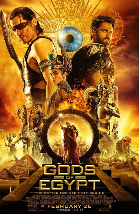 Poster - Gods Of Egypt - 2016