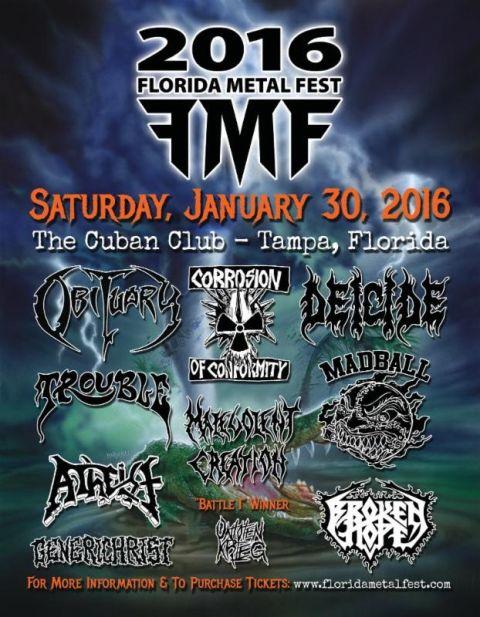 Tour - Florida Metal Fest - 2016