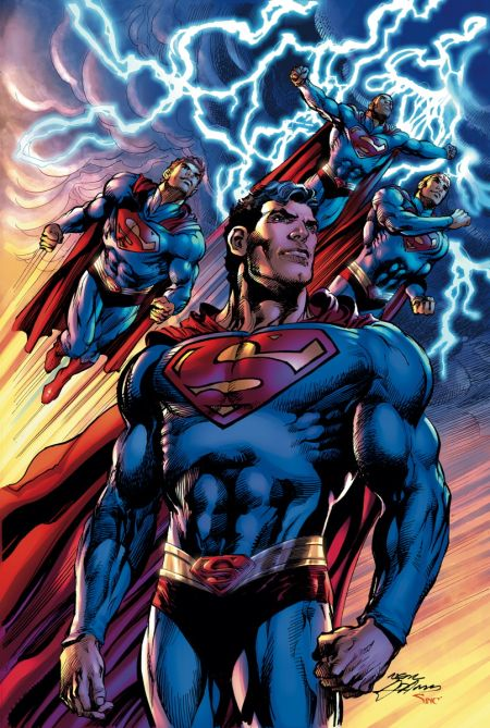 """Superman The Coming Of The Supermen"" #1"