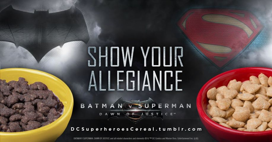 Photo - BvS Cereal - Who Wins