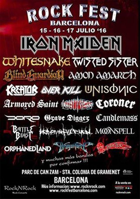 Poster - Rock Fest - 2016
