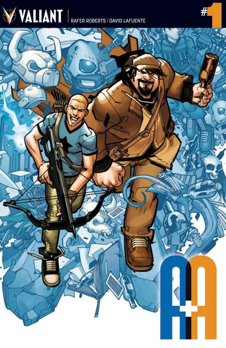 """A&A: The Adventures of Archer and Armstrong"" #1"
