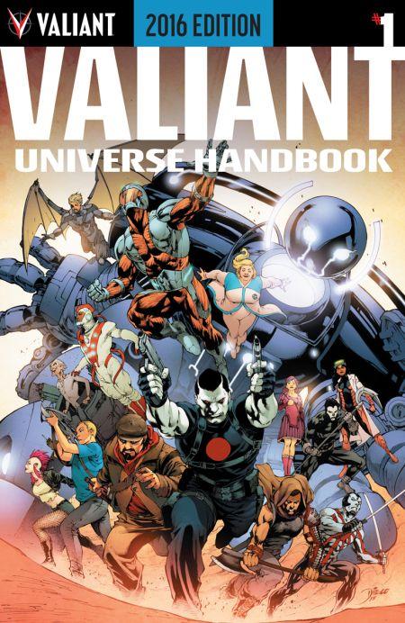 Comic - Valiant Universe Handbook - 2016