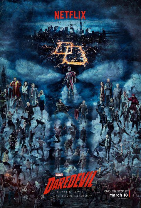Poster - Daredevil - Netflix Marvel - 2016