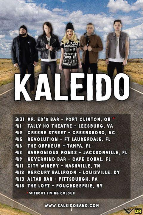 Tour - Kaleido - Spring 2016